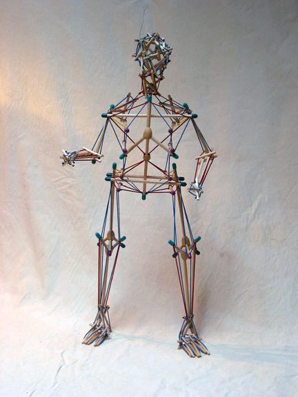 szkielet tensegryczny